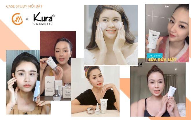 Kura cosmetic- Hành trình chinh phục khách hàng cùng với Celeb