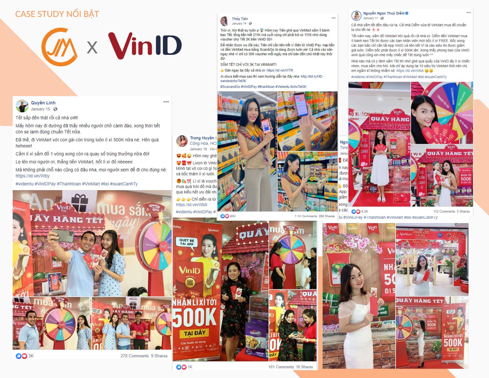 """VinID và chiến dịch """"Chợ Tết Đồng Giá 3K"""