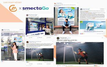 Smecta và chiến dịch quảng bá SmectaGo